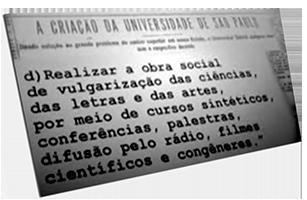 Criação da Universidade de São Paulo (USP)
