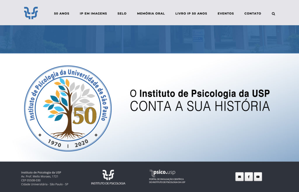 Lançamento do site IPUSP 50 anos
